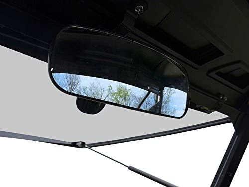 Polaris RZR UTV REAR VIEW MIRROR Fully Adjustable Wide Angle Steel Clamp NEW