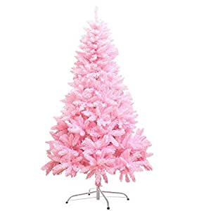 1.8 M Christmas Gift Cherry Blossom Pink Christmas tree With Decorations