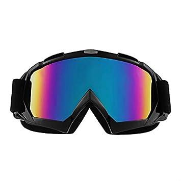 Alxcio Gafas de Moto Ciclismo Gafas Gafas de Sol UV Protección Gafas Mascara para Moto Motocross