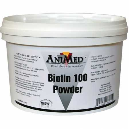 AniMed BIOTIN1002.5#100MG/#