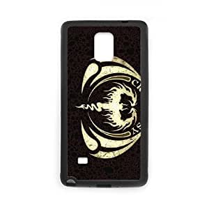 CRYPTOPSY 01L funda Samsung Galaxy Note caja del teléfono celular negro 4, funda Samsung Galaxy Note 4 Cell caja del teléfono negro