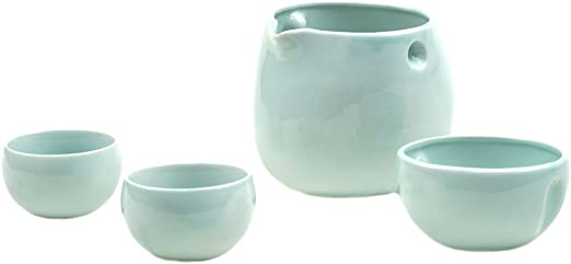 Edo Kiriko Guinomi Ochoko Japanese glass Sake cup  set of 5 Made in Japan
