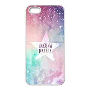 Personalized Creative Cell Phone Case For iPhone 5S,hakuna matata star background