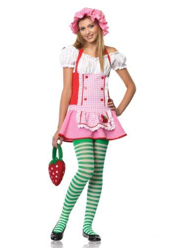 Country Girl Teen/Junior Costume - Teen Small/Medium