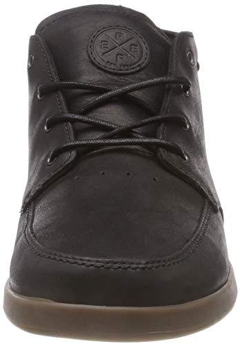 Sneaker Black Hohe Herren Bgu Nb Spiniker Gum Reef Schwarz Mid q01pPXfxxw