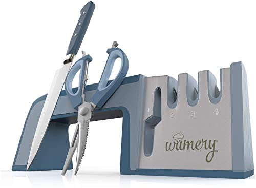 Wamery Knife Sharpener 4-Stage
