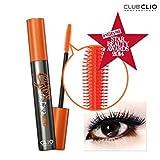 Clio Salon De Cara Finger Longlash Mascara, Black, 9 Gram