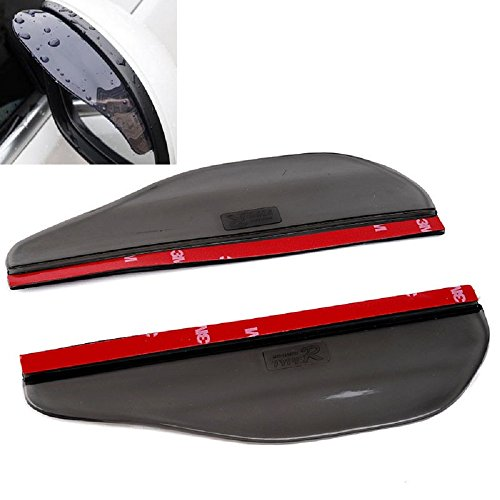 Universal Black Car Rain Sun Visors for VW Lupo Santana Touran Tiguan Jetta Vento Bora Sharan Touareg Phaeton Routan Gol XL1 UP! CC Eos Polo Passat Scirocco Golf Beetle Caddy