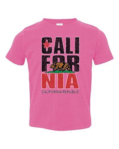 Price comparison product image P&B California Bear Republic blk T Toddler T-shirt,  5 / 6T,  Pink