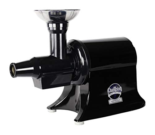 - Champion Classic 2000 Single Auger, Masticating Commercial Juicer - G5-PG710 - Black