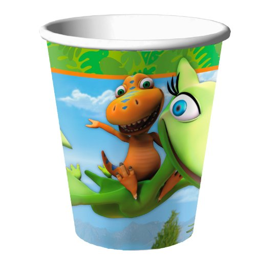 Hallmark Dinosaur Train - 9 oz Paper Cups (8) Party (Dinosaur Train Halloween)