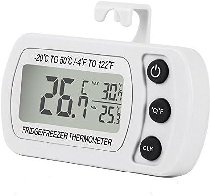 Compra Termómetro para frigorífico, impermeable, termómetro para ...