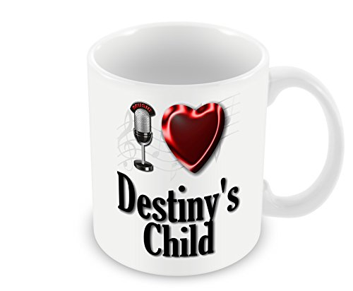Chalkhill Printing Company CP PopBand_037 Pop Group Mug-I Love Destiny's Child