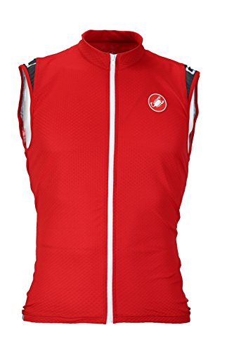 Castelli Entrata 2 Jersey - Sleeveless - Men's Red, ()