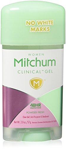 Mitchum Clinical Gel Powder Fresh Deodorant (2.0 oz each)