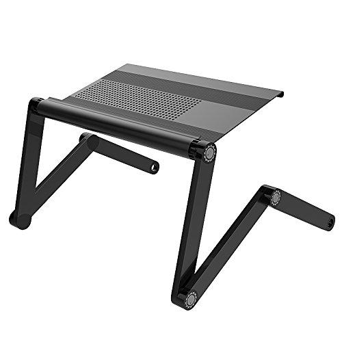 LYQZ Escritorio Plegable para computadora, Mesa de Aluminio Ligera ...