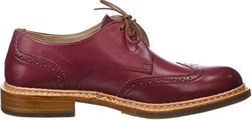 Neosens Amarante Rojo Zapatos Amarante para Skin Restored Derby Cordones de Mujer xwAxHSr8
