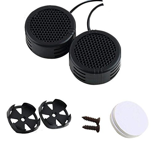 Power Super Loud Dome (MChoice 2 x 500 Watts Super Power Loud Dome Tweeter Speakers For Car 500W)