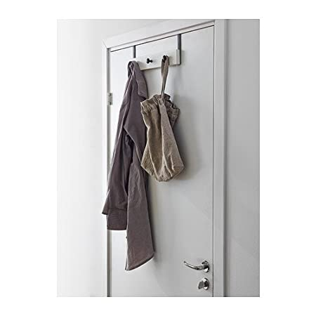 IKEA HEMNES - Suspensión de la puerta / pared, blanco ...