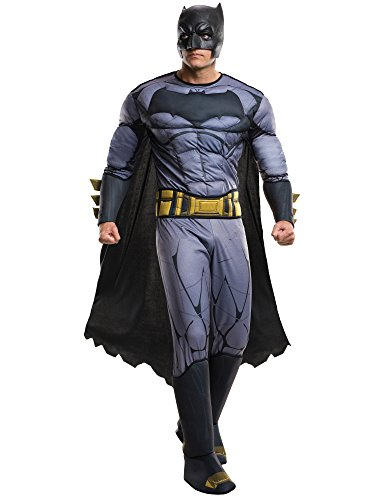 Rubie's Men's Batman v Superman: Dawn of Justice Deluxe Batman Costume, Multi, One -