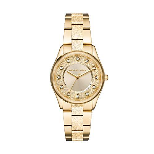 Michael Kors Women's Colette Gold Tone Stainless Steel Watch MK6601