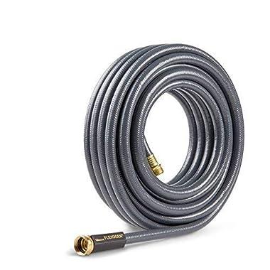 Gilmour 824501-1001 Flexogen Heavy Duty Watering Garden Hose 1/2in x 50 Feet, Grey