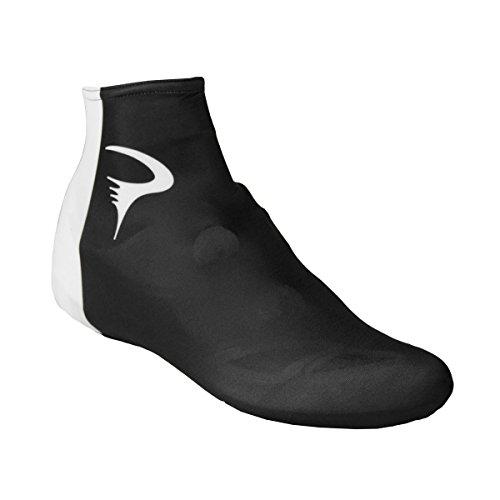Pinarello Lycra Cycling Shoe Cover - pi-s4-lysc-pina (Black/White - 39-41)