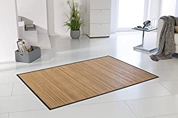 Tapis Bambou Honey Env 200x300 Cm 11mm Durci Stege Filigrane