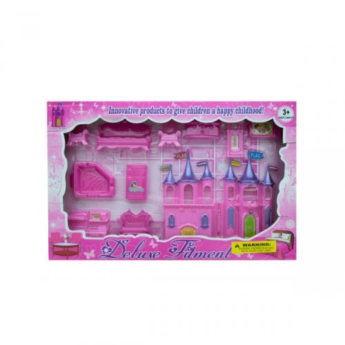 Kole Beautiful Castle and Furniture Play Set