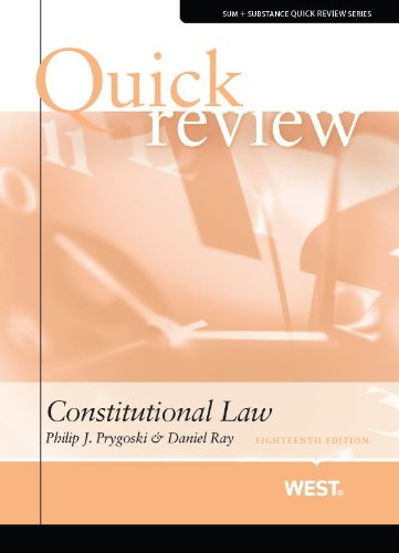 Quick Review of Constitutional Law (Quick Reviews)