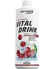 Best Body Nutrition Vital Drink Kirsche, Getränkekonzentrat, 1000 ml Flasche