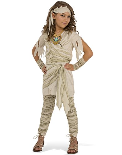 Make A Zombie Bride Costume (Rubies Costume Child's Undead Diva Mummy Costume, Large, Multicolor)