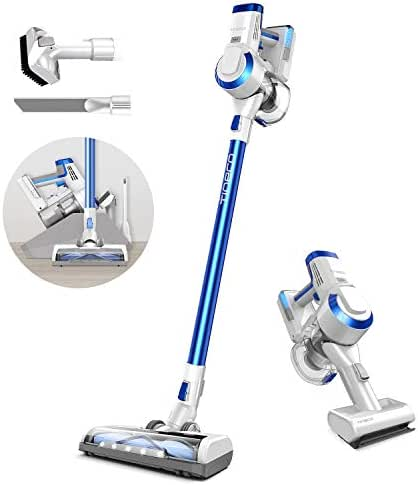 Tineco A10 Hero Cordless Vacuum Cleaner, 350W Rating Power Strong Suction Lightweight Stick Vacuum, LED Power Brush with Detachable li-ion Battery for Deep Clean Pet Hair Carpet Hard Floor