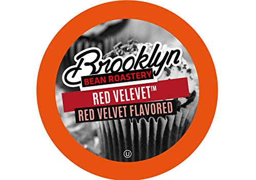 Brooklyn Beans Red Velvet Coffee Pods, Compatible with 2.0 K-Cup Brewers, 24 Count ()