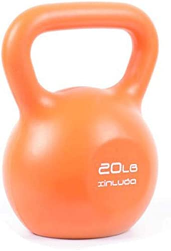 73HA73 Colorful Kettlebell Lifting Workout Heavy Duty High Eco PE Material Kettlebell Competition Quality