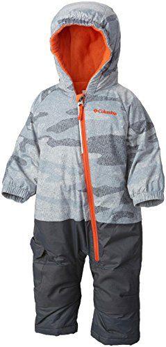 columbia-baby-little-dude-suit-trade-winds-grey-camo-tangy-orange-3-6-months