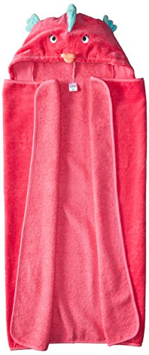 Carter's Girls' Bath Towels D04g038, Assorted, One Size - Fish Towel Hooded