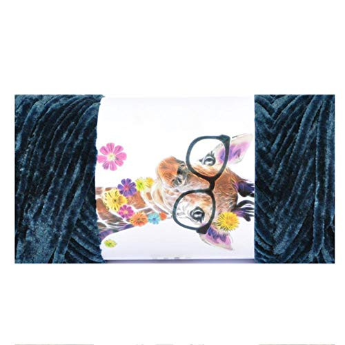 (689ft Chenille Yarn Bulky,Multicolor Velvet Crochet Yarn for Hand Knitting Baby Blanket,Cushion,Sweater,Scarf)