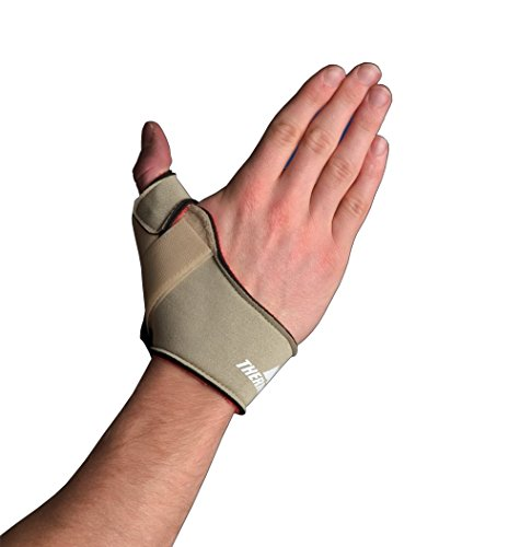Thermoskin Flexible Thumb Splint, Left, Medium