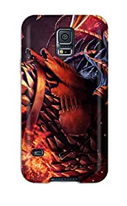 Premium Demon Shout Back Cover Snap On Case For Galaxy S5