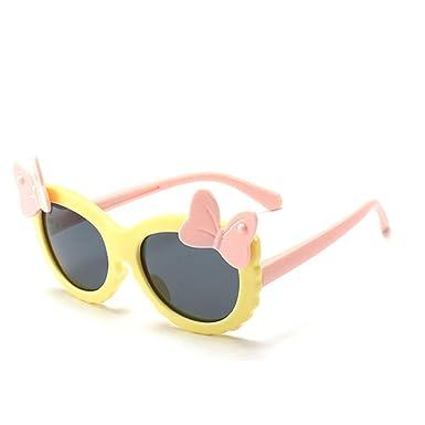 Wang-RX Gafas de sol para niños polarizadas para niña Marco ...