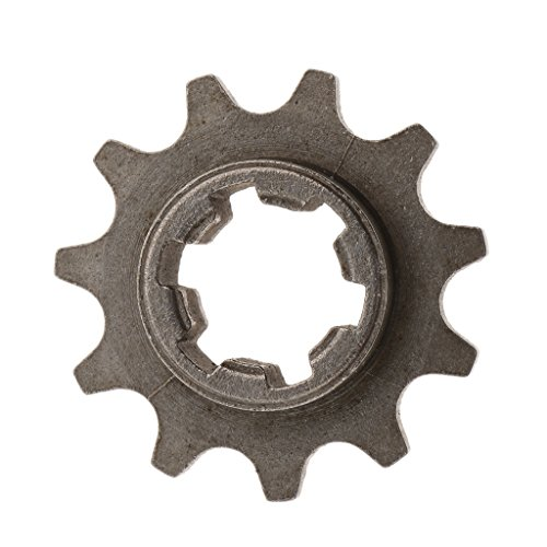 Flameer Heavy Duty Metal 14T + 11T 49cc Mini Pocket Dirt Bikes Engines Front Chain Sprockets for T8F Chains ()