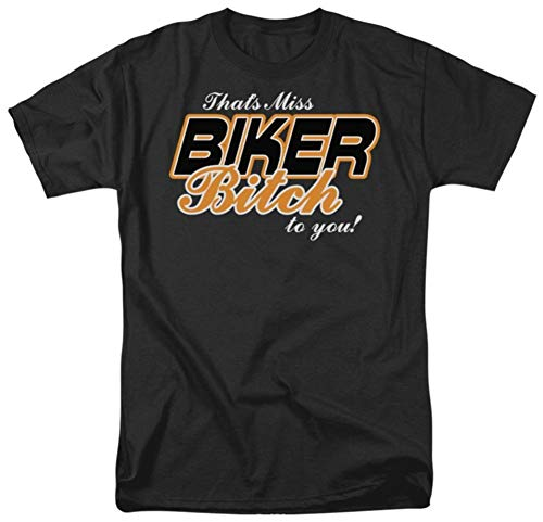 - Miss Biker Bitch T-Shirt Size XL