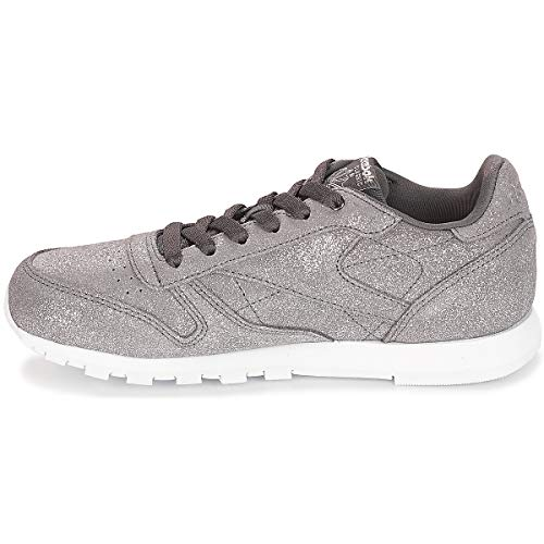 Femme Grey Leather pewter Reebok Multicolore ash ms Classic 0 Fitness w De Chaussures BCxX6xq