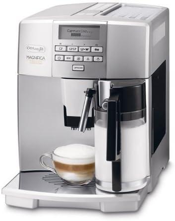 Delonghi Magnifica ESAM 04.350.S Máquina De Espresso, 1450 W, 1.8 Litros, Plateado: Amazon.es: Hogar