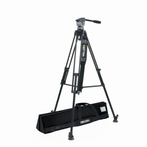 Miller 828 DS-10 Tripod (Gray/Silver) by Miller Camera Support LLC USA