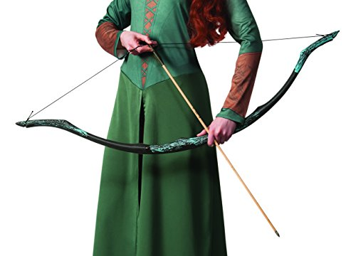 Lord Rings Legolas Bow - Rubie's Men's Lord Of The Rings Accessory Legolas Bow and Arrow, Multicolor, One Size