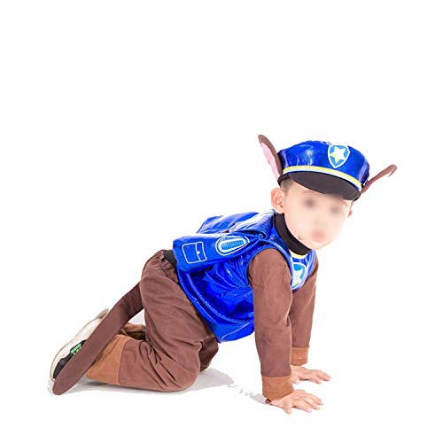Halloween Party CCostume Kids Patrol Dog Cartoon Clothes,Chase,S