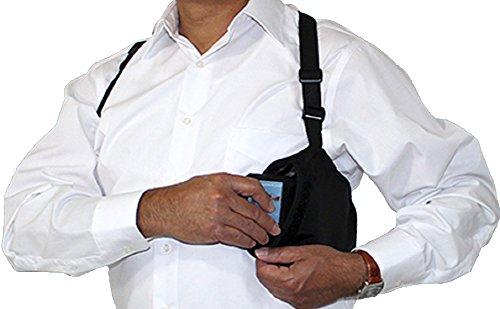 Wellspring Ideas Travel Pocket RFID Hidden Holster Shoulder Wallet