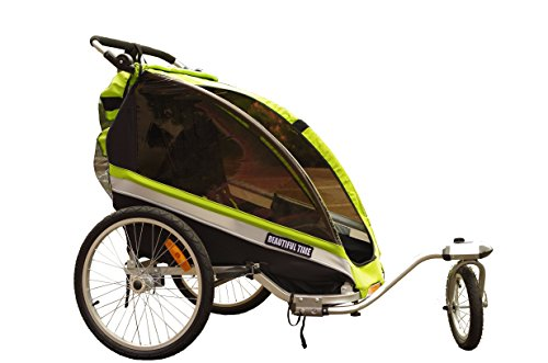 Beautiful Time Baby Aluminum Bicycle Trailer & Stroller 2 in